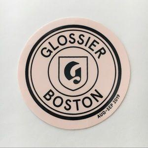 Rare Glossier Boston Pop Up Shop Sticker